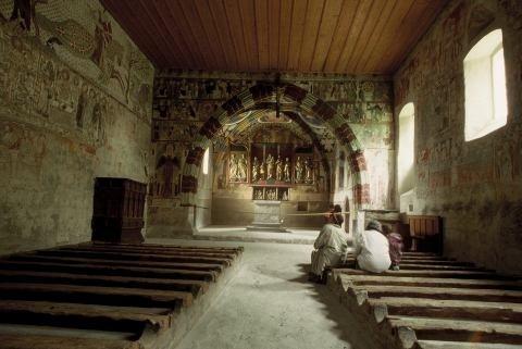 Visita ai monumenti medievali dei Grigioni
