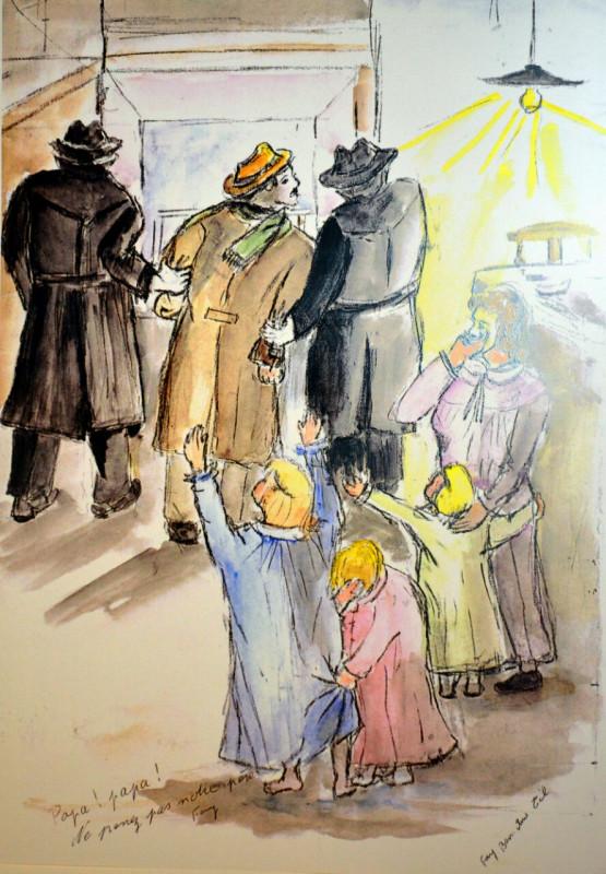 4_Agosto 1939 Ultimo sguardo a nostro padre