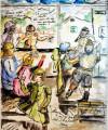 14_1943 Triste separazione inizio della fuga in Svizzera con OSE