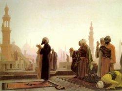 Preghiera al Cairo (Jean-Léon Gérôme, 1865)