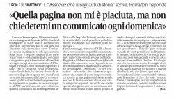 """""""Quella pagina non mi è piaciuta..."""", Il Giornale del Popolo, 17 settembre 2010"""