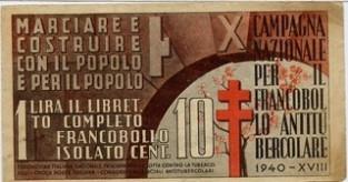 D. La X campagna nazionale antitubercolare