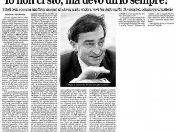 """""""Io non ci sto, ma devo dirlo sempre?"""", La Regione Ticino, 17 setttembre 2010"""