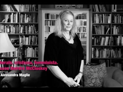 Liberale, cristiana, femminista. Il caso di Deirdre McCloskey. Video-lezione di Alessandra Maglie